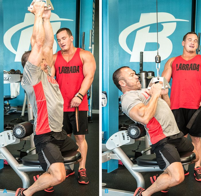 Close-Grip Lat Pull-Down