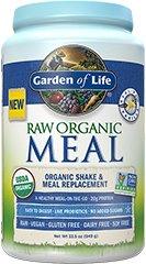 Pasto organico crudo del giardino della vita